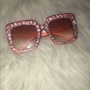 Accessories - Oversized bling sunglasses